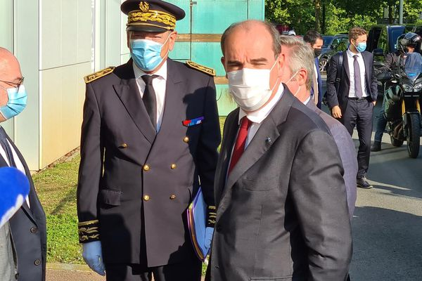 Le Premier ministre Jean Castex est arrivé à Bayonne ce samedi 17 juillet.