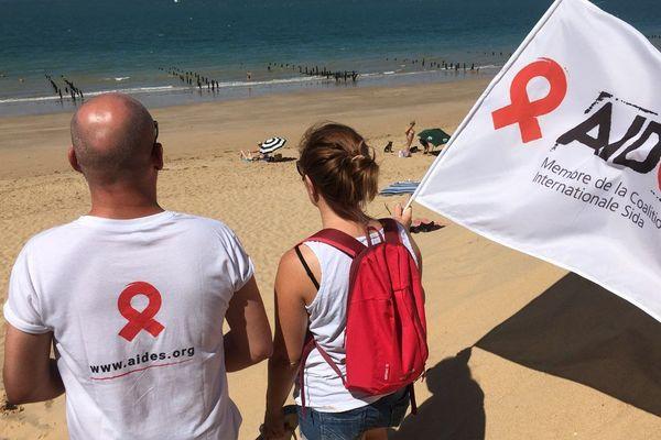 Opération de prévention sur les pratiques à risques sur les plages de Nouvelle-Aquitaine (image d'illustration).