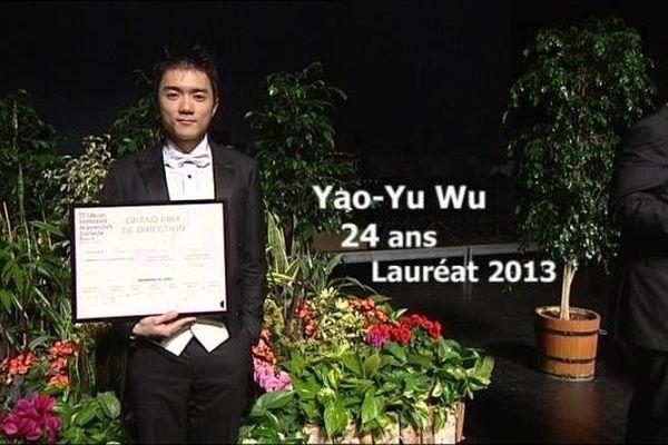 Le lauréat du 53 eme concours des jeunes chefs d'orchestre vient de Taïwan