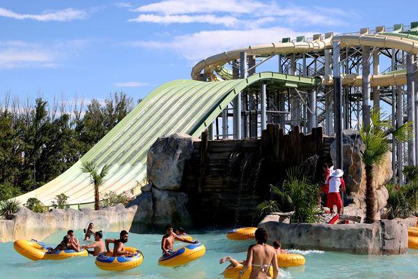 La parc aquatique a ouvert ses portes le 9 juin à Monteux.
