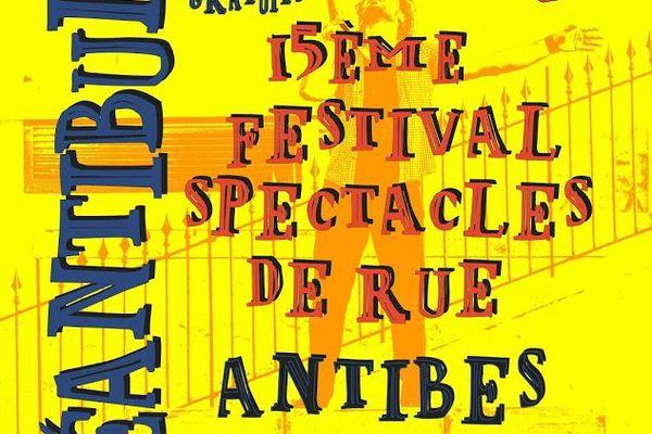 """L'affiche de la 15ème édition des """"Déantibulations""""."""
