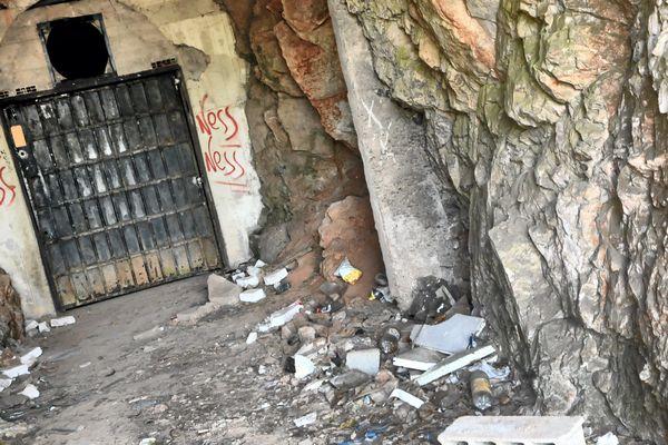 Sète (Hérault) : L'endroit où le corps de Patrick Isoird a été retrouvé, calciné et criblé de 2 balles. 2014.