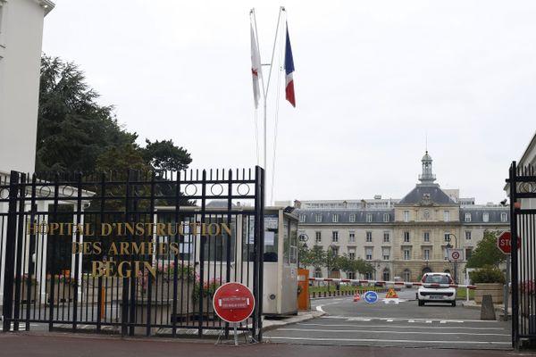 L'entrée de l'hôpital militaire Begin, situé dans le Val-de-Marne