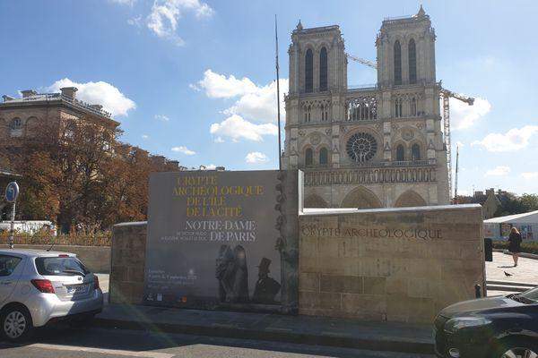 La crypte ouvre ses portes au public le 9 septembre avec sa nouvelles exposition : Notre-Dame de Paris, de Victor Hugo à Eugène Viollet-le-Duc.