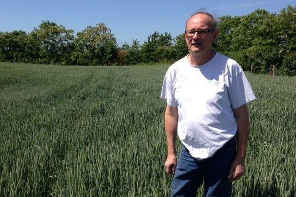 Guy Leblond a déjà 15 ans d'expérience dans l'agroécologie à Beautor, dans l'Aisne.
