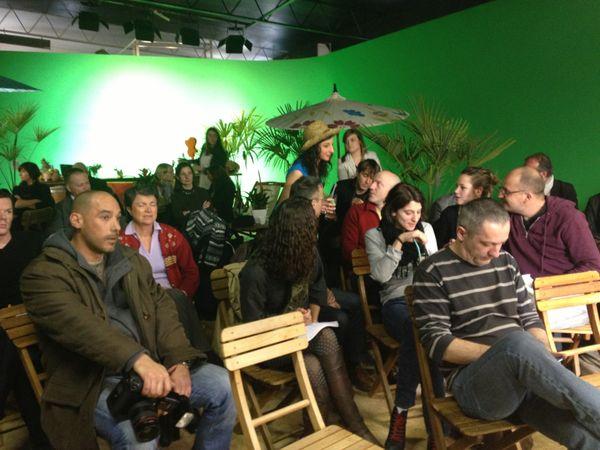 L'assistance lors de la conférence de presse à Saint-Viance des organisateurs de Brive-Plage