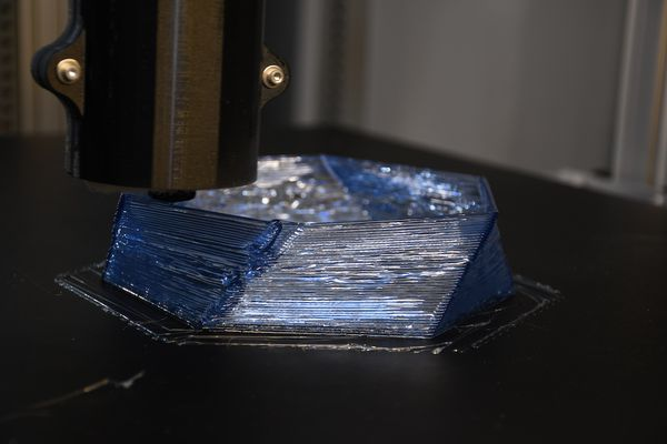 Impression 3D au laboratoire LF2L avec une imprimante Gigabot X