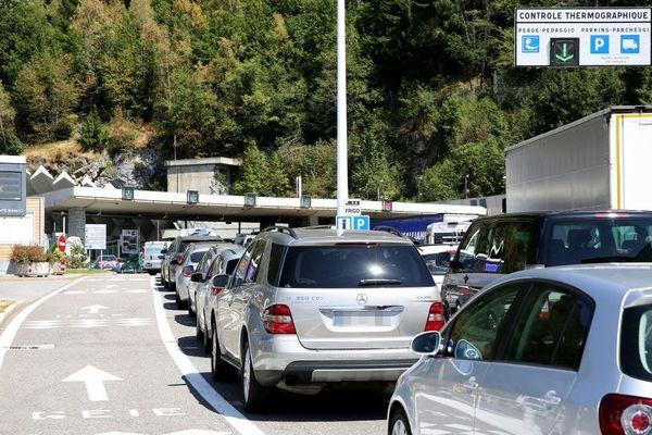 circulation tunnel du Mont-Blanc