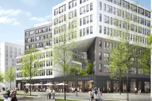 « Quai 8.2 », C'est l'une des nombreuses réalisations du nouvel ensemble Euratlantique Le projet immobilier Quai Ilot 8.2 à Bordeaux est situé au coeur du quartier d'affaires Armagnac, aménagé par l'Etablissement Public d'Aménagement (EPA) Bordeaux Euratlantique, à proximité de la future gare de LGV.  Il comprend 29 500 m² de bureaux, 3 000 m² de commerces, 2 hôtels totalisant 237 chambres et une résidence étudiante de 125 lots, sur une surface totale de 43 000 m².