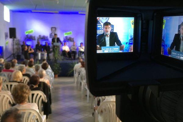 Législatives - Jean-Martin Mondoloni en meeting à Calvi