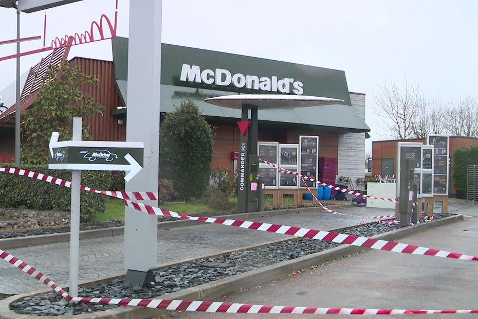 Le Mc Donald's de Auxerre fermé trois semaines pour non-respect du protocole sanitaire - France 3 Régions