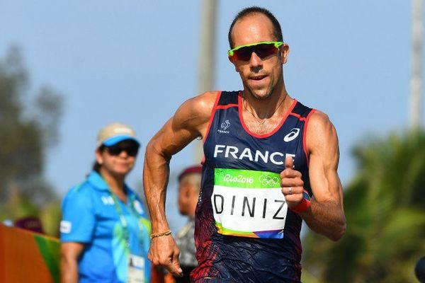 Yohann Diniz lors des Jeux olympiques de Rio en août 2016.