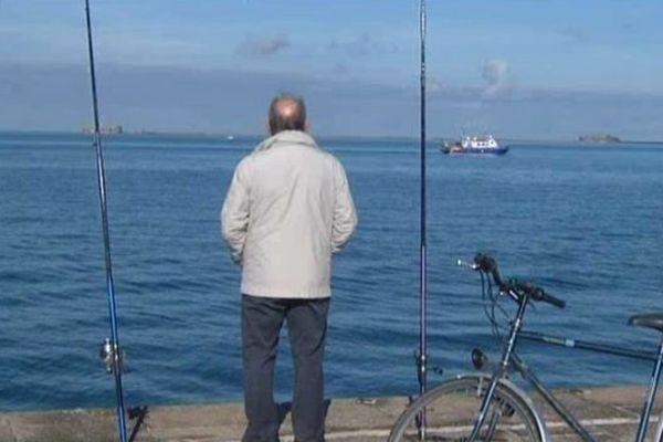 Les travaux débuteront en 2014. 39 hectares seront gagnés sur la mer. La rade de Cherbourg va être métamorphosée.