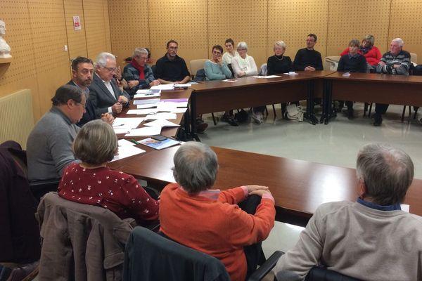 Grand débat organisé à La Faute-sur-Mer le 18 janvier 2019