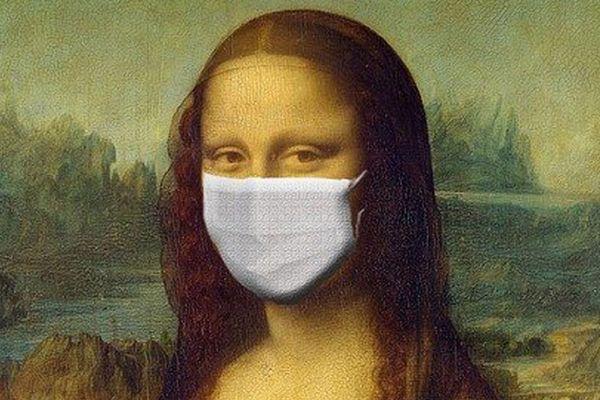 Mona Lisa est, elle-aussi une victime, bien malgré elle, de la lutte contre le Coronavirus - CoVid-19