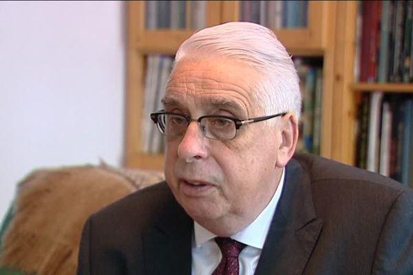 Jean-Pierre Sueur, sénateur PS, rapporteur de la commission d'enquête concernant les réseaux djihadistes en France et en Europe