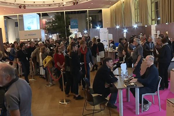 30 000 visiteurs ont arpenté les allées du Palais Beaumont