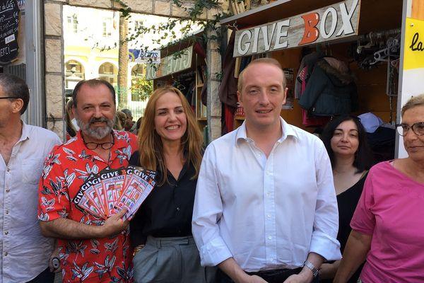 Jeudi 29 août, une convention a été signée par la municipalité pour promouvoir le modèle de la Give Box dans d'autres quartiers d'Ajaccio.