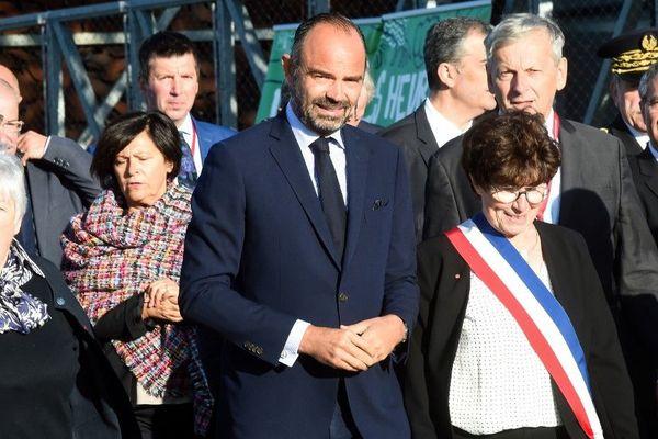 Edouard Philippe à Eppe-Sauvage ce vendredi