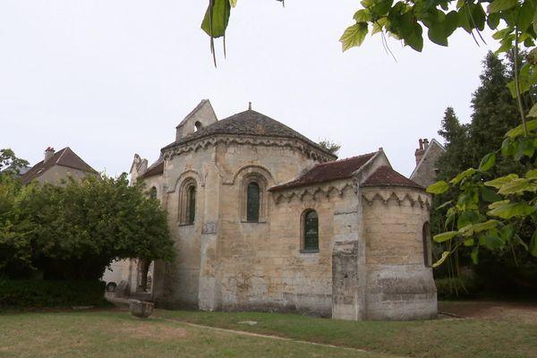 La chapelle des Templiers de Laon dans l'Aisne