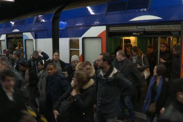 Le RER D interrompu à cause de plusieurs incidents ce mercredi.