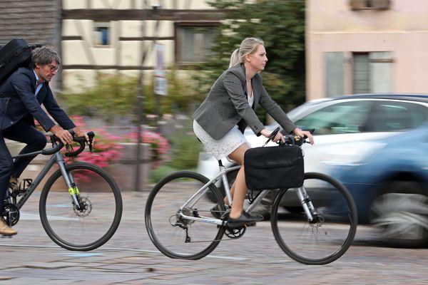 Dans les villes françaises, le vélo représente moins de 10% des déplacements domicile-travail