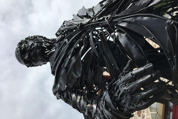Sculpture de François Hollande