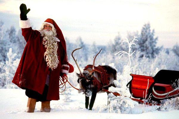 Le Père Noël et son traineau pourront circuler sans problème à Ploemeur dans la nuit de Noël.