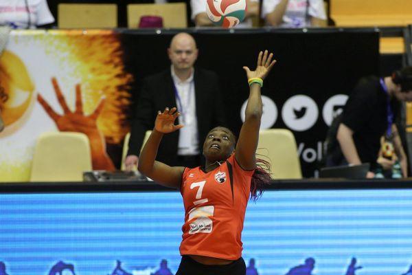 Christelle Tchoudjang Nana, capitaine du Volley Ball Club Chamalières