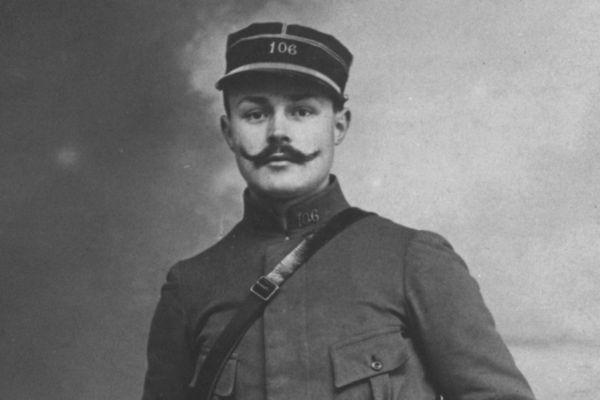 Maurice Genevoix en 1915.