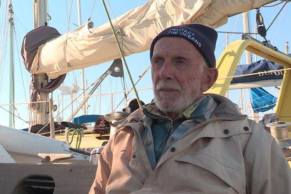 """Avec son bateau """"Saga"""", Jean-Michel Bonnenfant a déjà fait l'équivalent de deux tours du monde."""