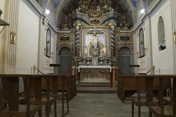 La chapelle Sainte Croix de Corte (Haute-Corse)