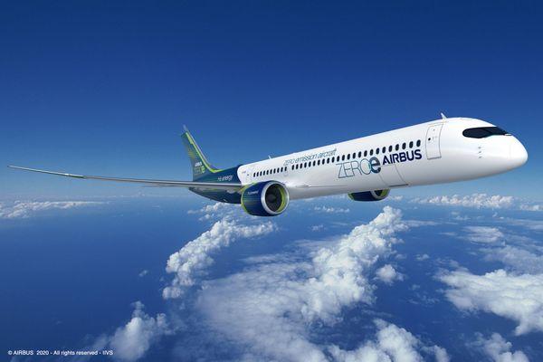 Airbus travaille sur trois concepts d'avion à Zéro émission dont les installations pilotes en Europe seront basées à Lyon