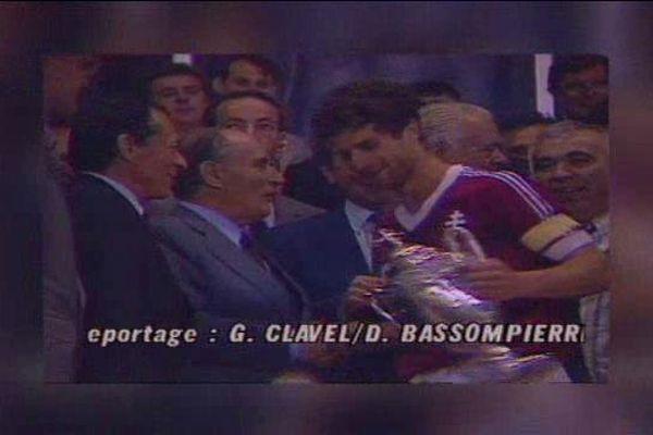 Alors joueur grenat, Philippe Hinschberger remporta la coupe de France de 1988