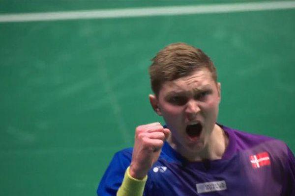 L'élève Viktor Axelsen a surpassé le maître Jan Jorgense, dimanche en finale des Championnats d'Europe de Badminton, au Vendéspace de Mouilleron-le-captif (Vendée).