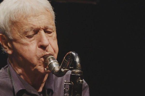 Michel Portal en concert à Jazz sous les pommiers 2017