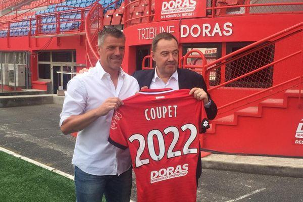 Grégory Coupet a paraphé un contrat de deux saisons avec le club dijonnais