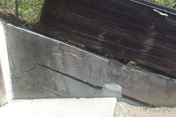 Les fissures touchent toutes les habitations du secteur