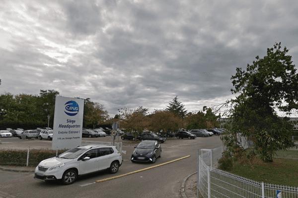 Le siège de Ceva, à Libourne en Gironde.