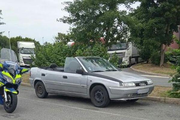 Le véhicule a été arrêté le 17 août dernier près de la commune de Meunet-sur-Vatan
