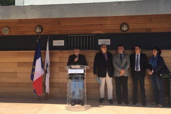 30/05/15 - Inauguration de la gare de Vivario (Corse-du-Sud)