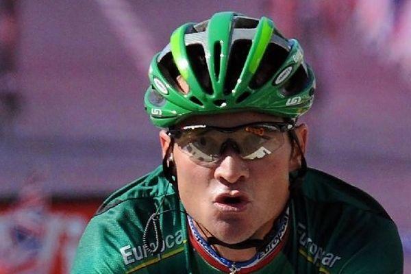 Thomas Voeckler lors du Tour de France 2012