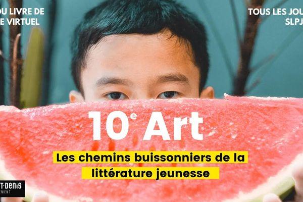 Le Salon du livre et de la presse jeunesse (SLPJ) de Montreuil a lancé une édition virtuelle pendant le confinement.