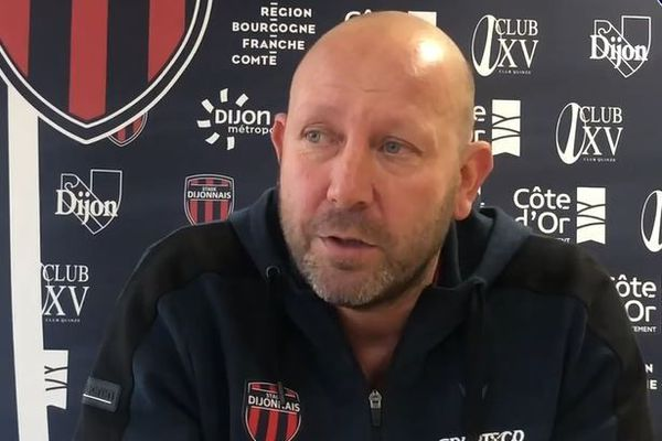 Renaud Gourdon est le manager général de l'équipe dijonnaise depuis la saison 2017-2018