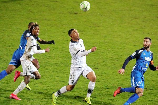 Le VAFC jouant à Niort, le 21 février.