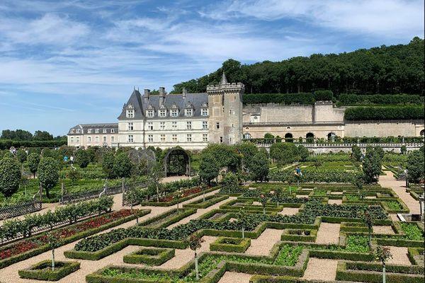 Le Château de les jardins de Villandry