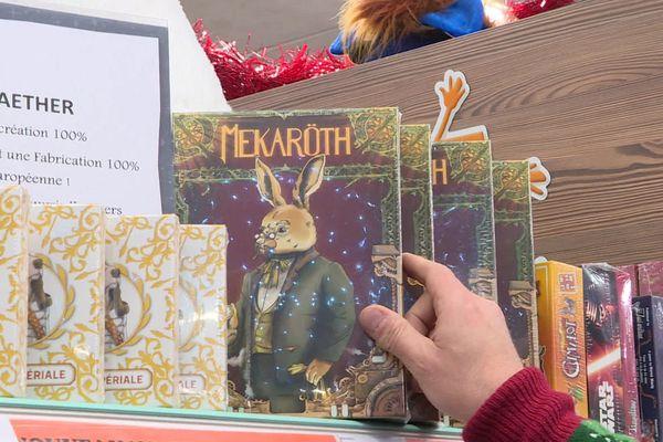 Les jeux Made in Cantal Mekaröth et Patée Impériale sont disponibles à Aurillac et sur internet.