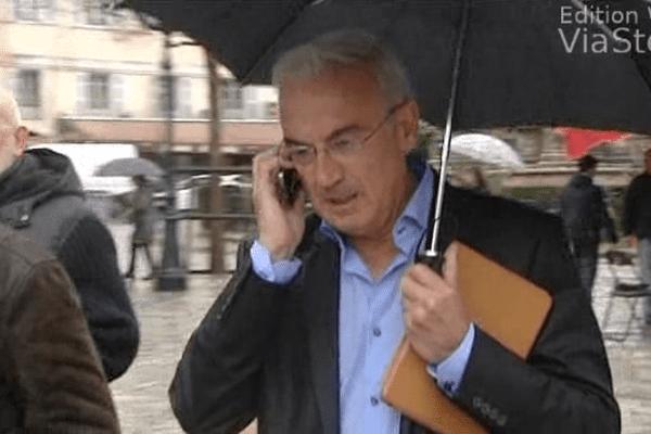 ILLUSTRATION - José Filippi, conseiller municipal d'opposition à Ajaccio.