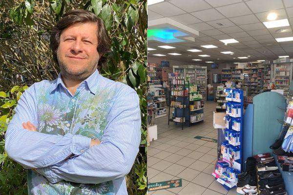 Jean-Christophe Grenier, pharmacien à Mouleydier, déplore surtout le désordre qui règne dans l'organisation de la crise et qui met sa profession en général et son officine en particulier à rude épreuve depuis un an