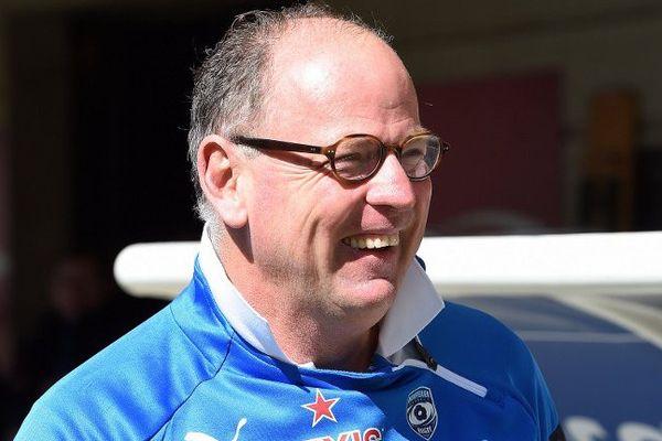 Jake White, l'entraîneur du MHR - mars 2015